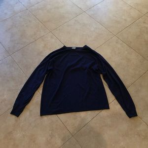 Redhead Long Sleeve Navy Blue Sweater.  Size XL